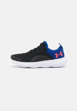 VICTORY - Neutral running shoes - black/royal blue