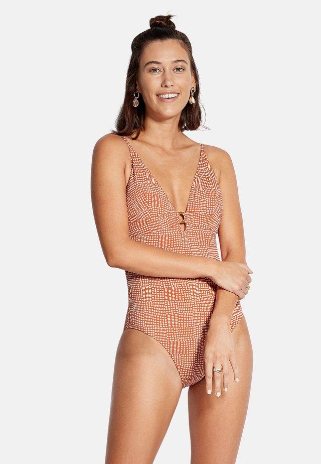 Swimsuit - pumpkin