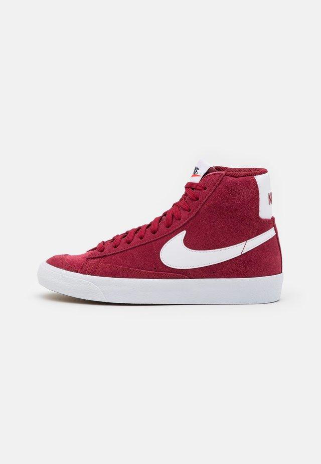 BLAZER MID '77 UNISEX - Sneakers hoog - team red/white/black
