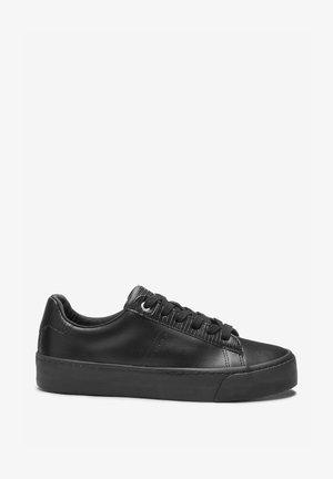 SIGNATURE CHUNKY  - Sneakersy niskie - black