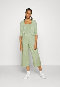 Monki - OVERA - Cardigan - green dusty light - 1