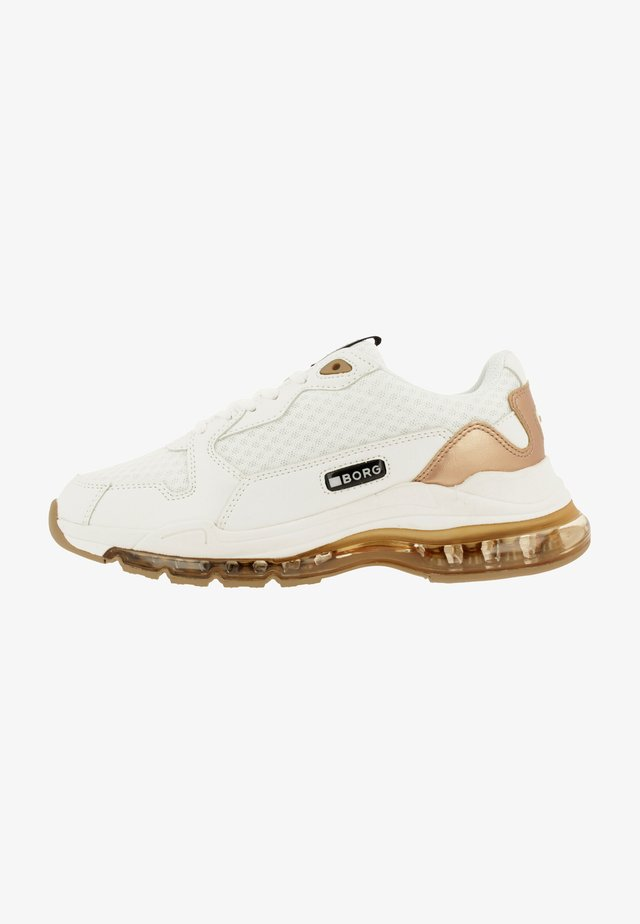 X500  - Sneakers laag - white/gold