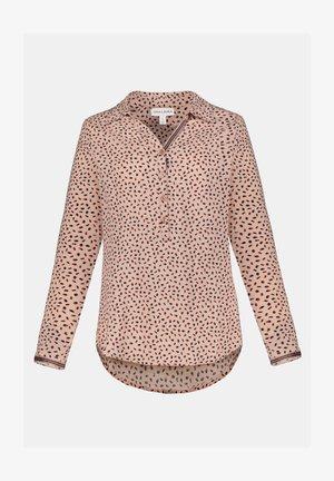 Button-down blouse - perlrosa