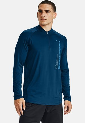 Long sleeved top - graphite blue