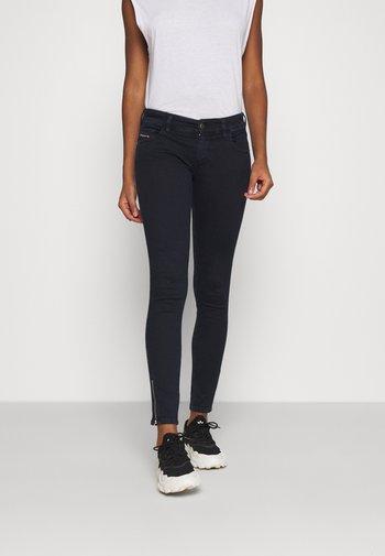 SLANDY-LOW-ZIP - Jeans Skinny Fit - dark blue