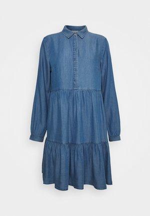 VIMORASA GUDNY SHIRT DRESS - Day dress - medium blue denim