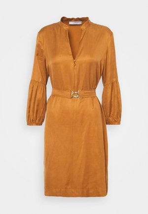 LACER - Shirt dress - cuoio