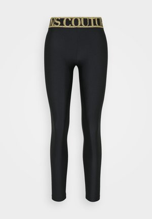 LADY FUSEAUX - Leggingsit - black
