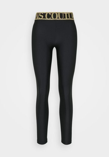 LADY FUSEAUX - Leggings - Trousers - black