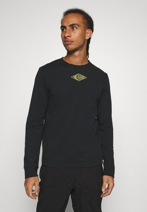 ESMUND - Long sleeved top - midnight black