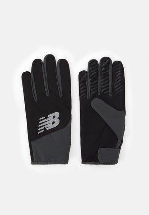 RUNNING GLOVES - Fingerhandschuh - black/white
