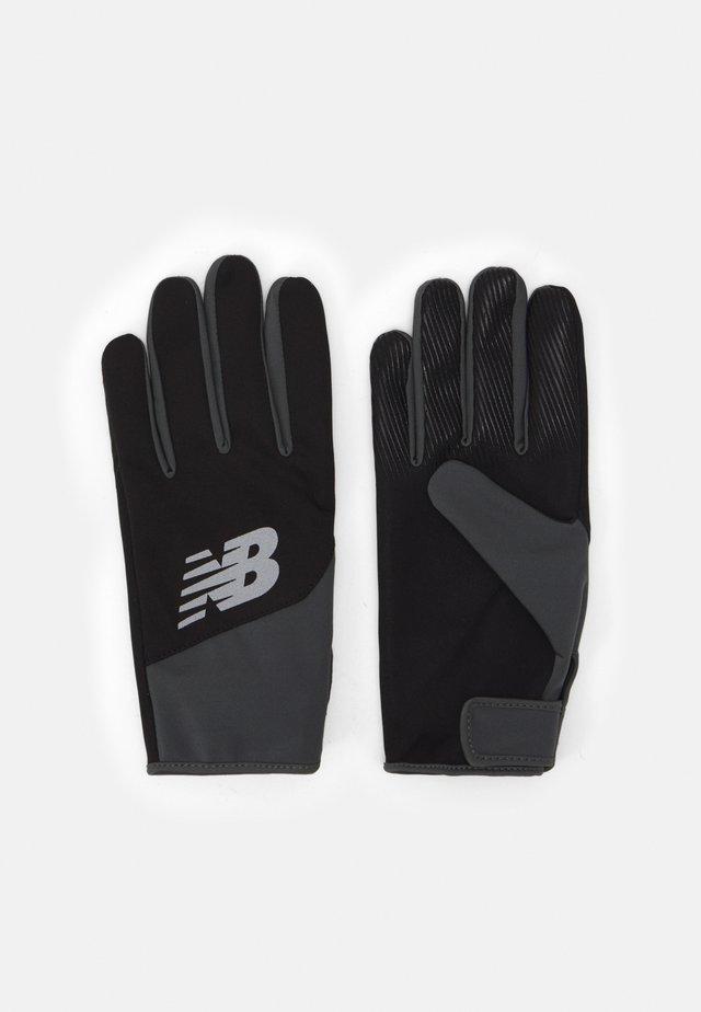 RUNNING GLOVES - Fingervantar - black/white