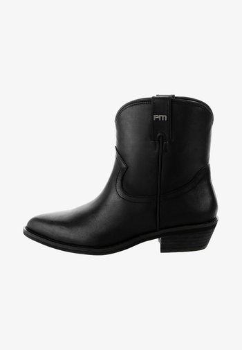 WOLKENSTEIN - Cowboy/biker ankle boot - black