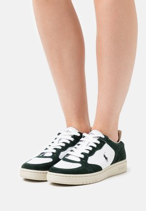 COURT TOP LACE - Sneakers basse - racing green