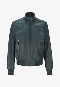 BOSS - NEOVEL - Leather jacket - light green - 5