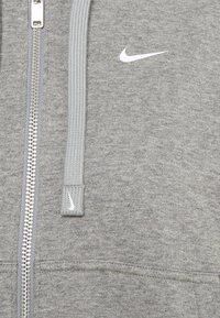 Nike Performance - DRY GET FIT  - Zip-up hoodie - carbon heather/particle grey/white - 5