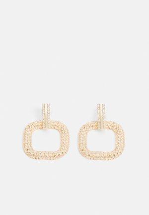 ONLBRIA STRASS EARRINGS - Náušnice - gold-coloured