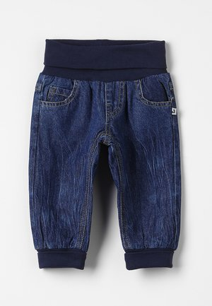 Vaqueros boyfriend - dark blue denim
