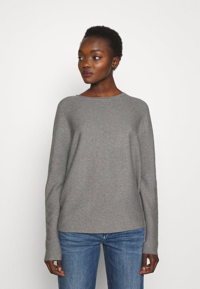 MAILA - Sweter - light grey melange