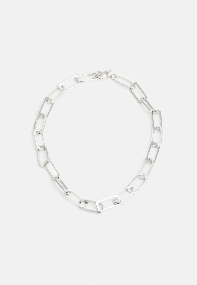 NECKLACE - Collier - silver-coloured