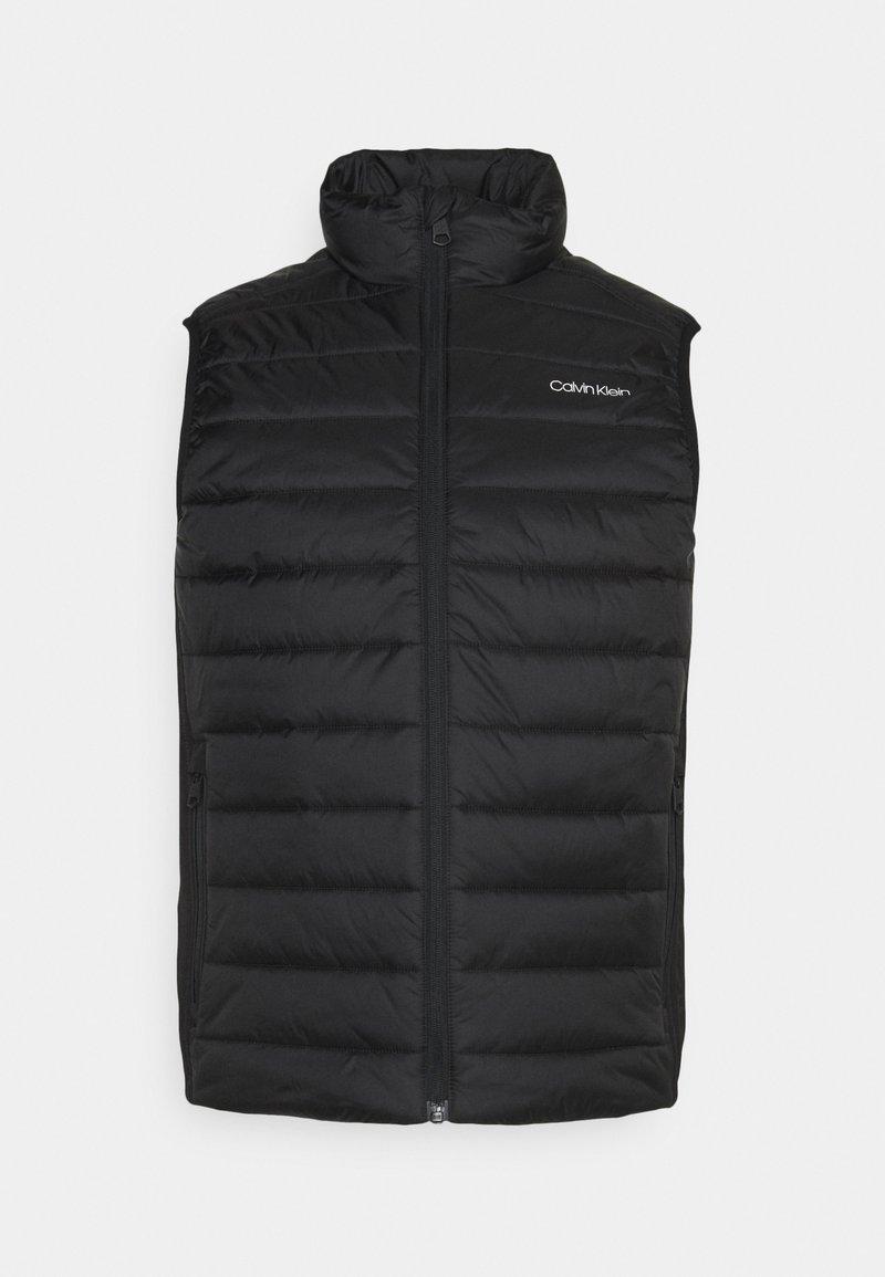 Calvin Klein - ESSENTIAL SIDE LOGO VEST - Väst - black