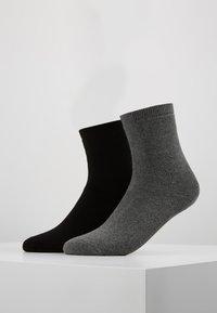 Anna Field - 2 PACK - Socks - black - 0