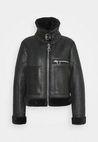 Topshop - AMIE - Faux leather jacket - black - 2