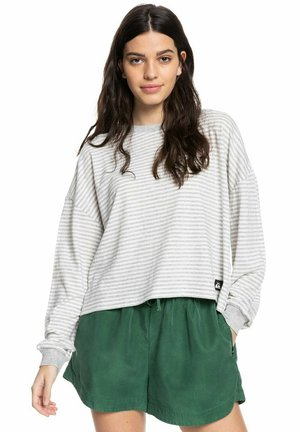 RISE OF WAVE - Long sleeved top - lgh mini stripes