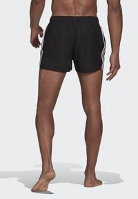 adidas Performance - 3 STRIPES CLASSICS PRIMEGREEN SWIM SHORTS - Swimming shorts - black - 1