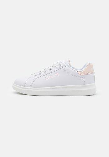 ELLIS - Baskets basses - white/light pink