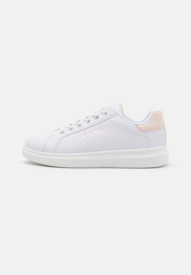 ELLIS - Trainers - white/light pink