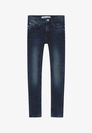 SUPER SKINNY - Skinny džíny - blue