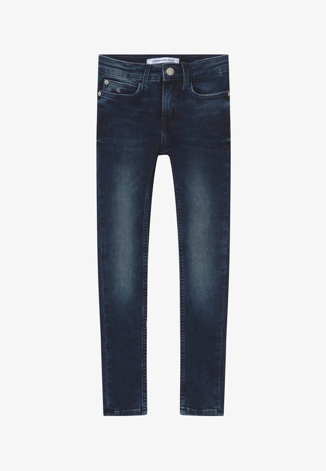 SUPER SKINNY - Jeans Skinny Fit - blue
