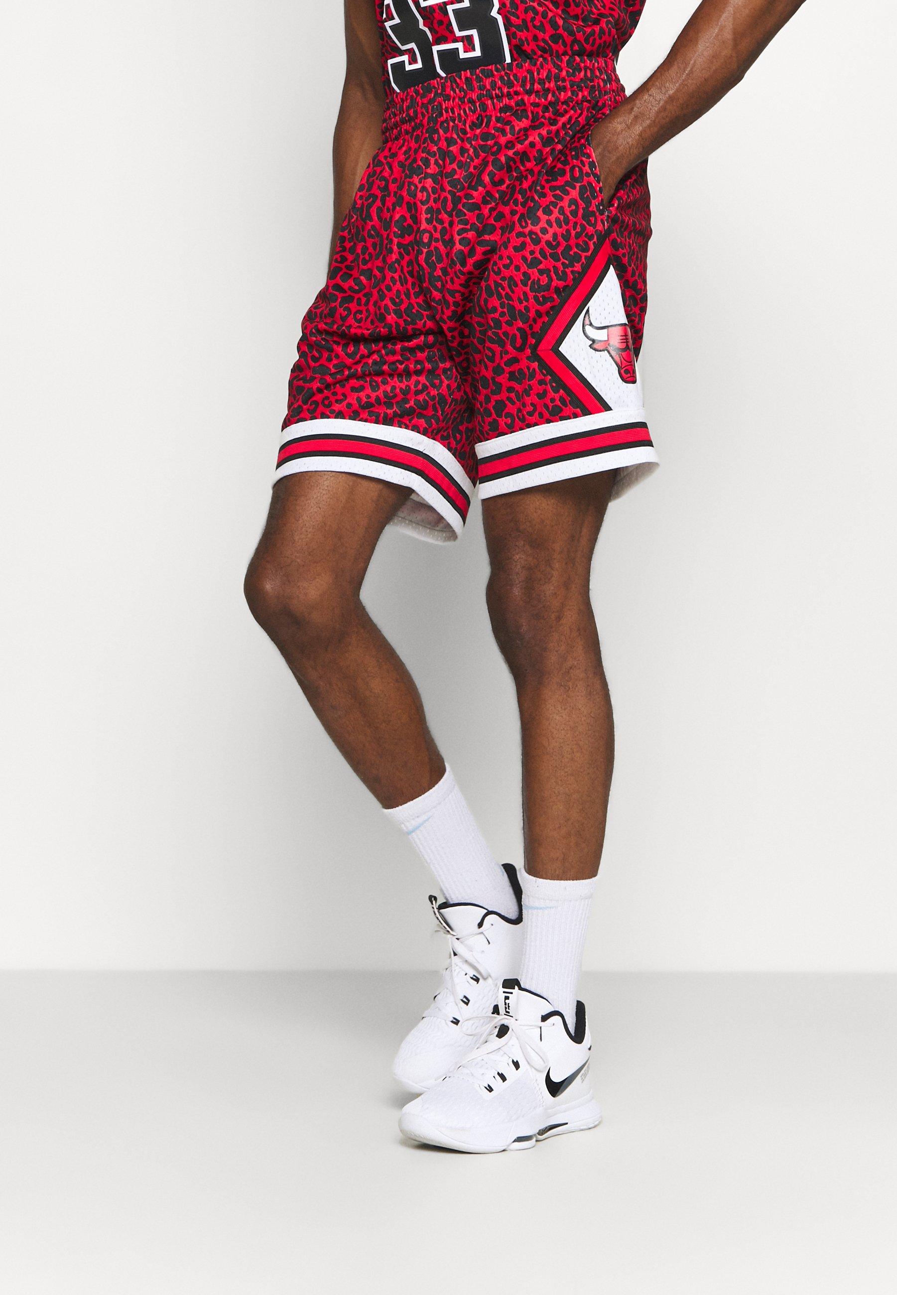 Men NBA CHICAGO BULLS WILD LIFE SWINGMAN SHORT - Sports shorts