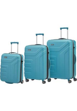 VECTOR ROLLEN - Luggage set - türkis