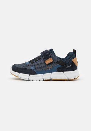 FLEXYPER BOY - Trainers - navy/cognac