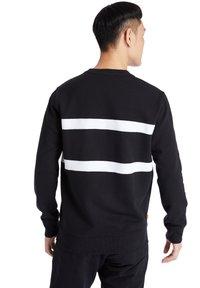 Timberland - CUT AND SEW CREW - Sweatshirt - black - 1
