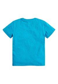 Next - 4 PACK FLURO T-SHIRTS - Basic T-shirt - blue - 2