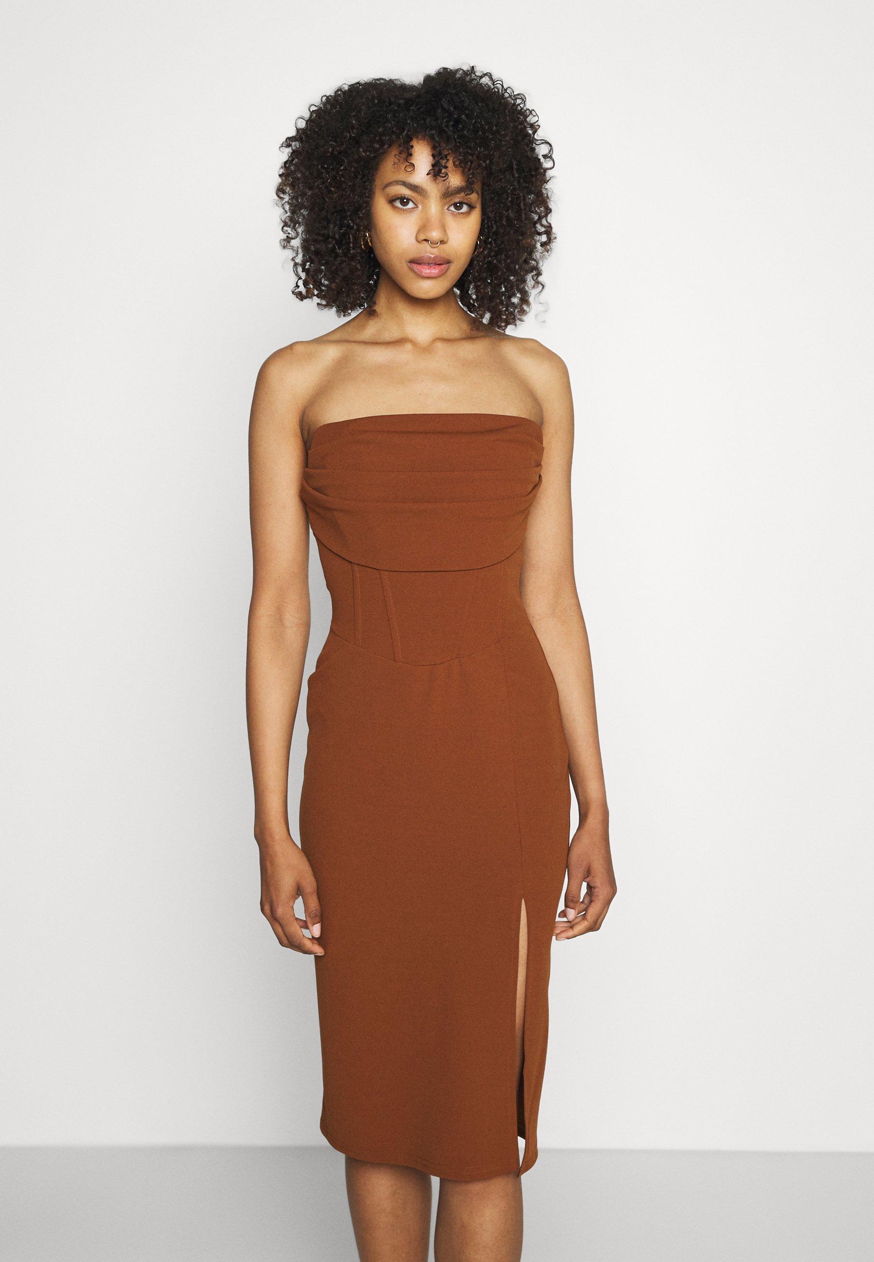 Women ZURI MIDI DRESS - Jersey dress