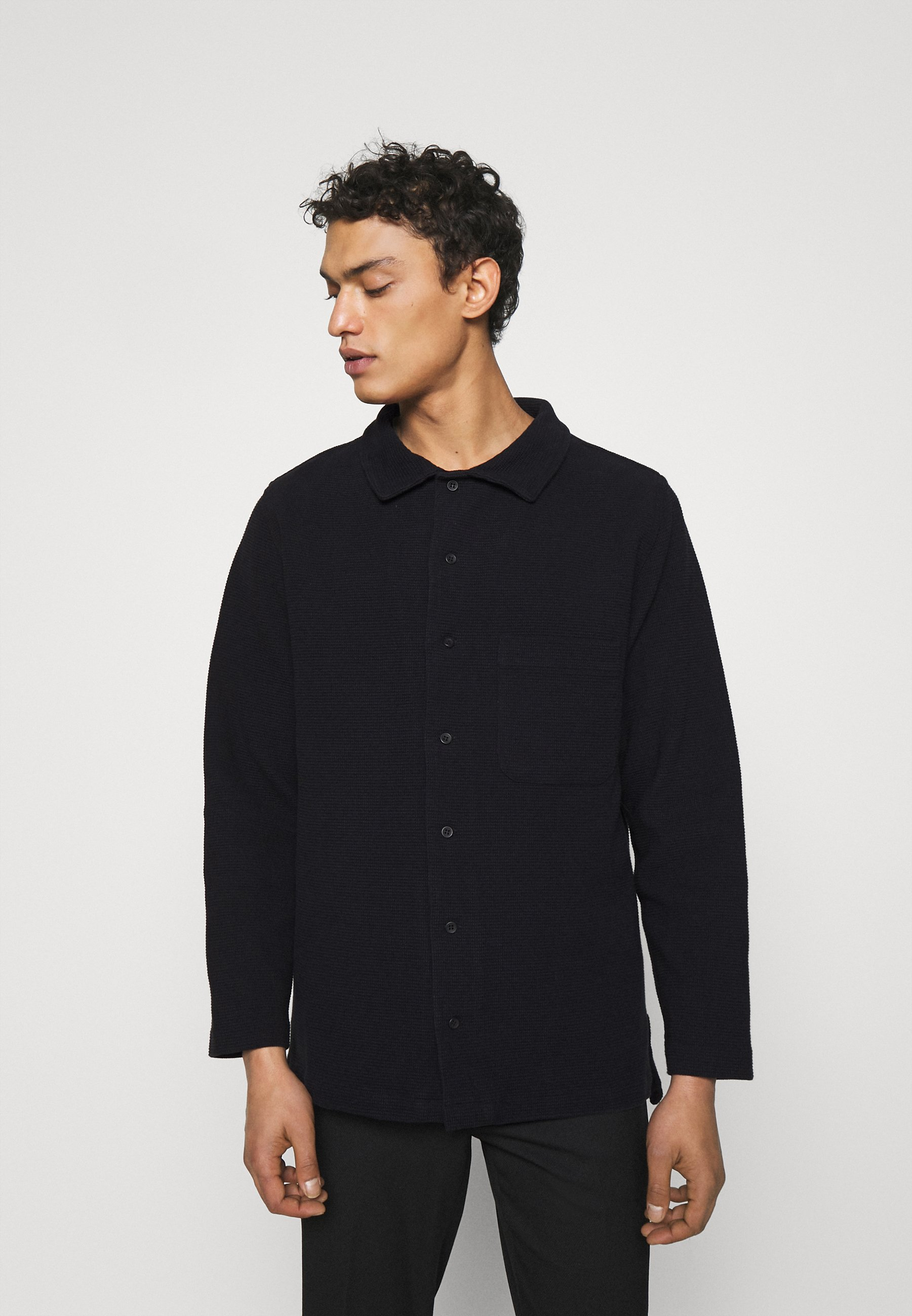 Homme WAFFLE LONG SLEEVE - T-shirt à manches longues