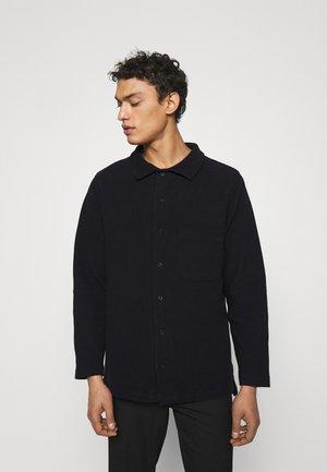 WAFFLE LONG SLEEVE - T-shirt à manches longues - black