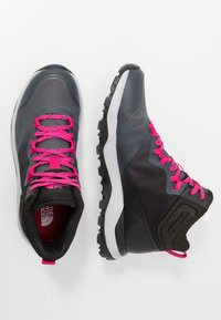 The North Face - W ACTIVIST MID FUTURELIGHT - Outdoorschoenen - zinc grey/black - 1