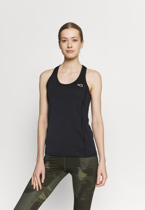 NORA SINGLET - Topper - black
