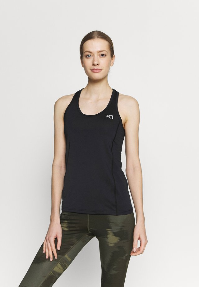NORA SINGLET - Top - black