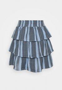 CECILIE copenhagen - BECKY SKIRT - A-line skirt - cloud - 1