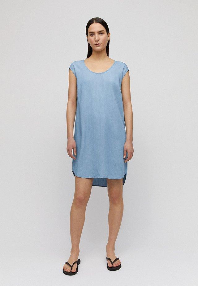 Day dress - light denim blue