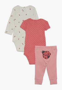 Carter's - GIRL LADYBUG BABY SET - Leggings - pink - 1