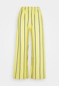 Obey Clothing - RONNY PANTS - Tracksuit bottoms - lemon multi - 3