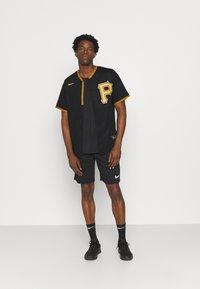 Nike Performance - MLB PITTSBURGH PIRATES OFFICIAL REPLICA ALTERNATE - Club wear - pro black - 1