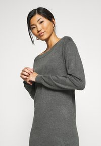 Anna Field - Jumper dress - dark grey mélange - 3
